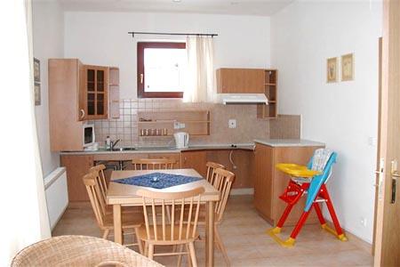 Ubytování Lipno - Penzion ve Frymburku - kuchyň